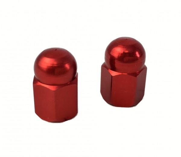 Tapas de válvulas «tuera de sombrerete» en rojo