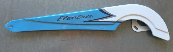 Cubrecadenas original ELECTRA Coaster 3 azul blanco