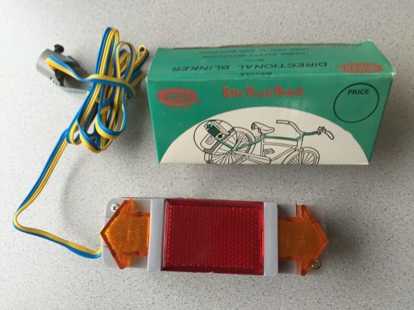 Indicador de dirección original (intermitente de bicicleta)*