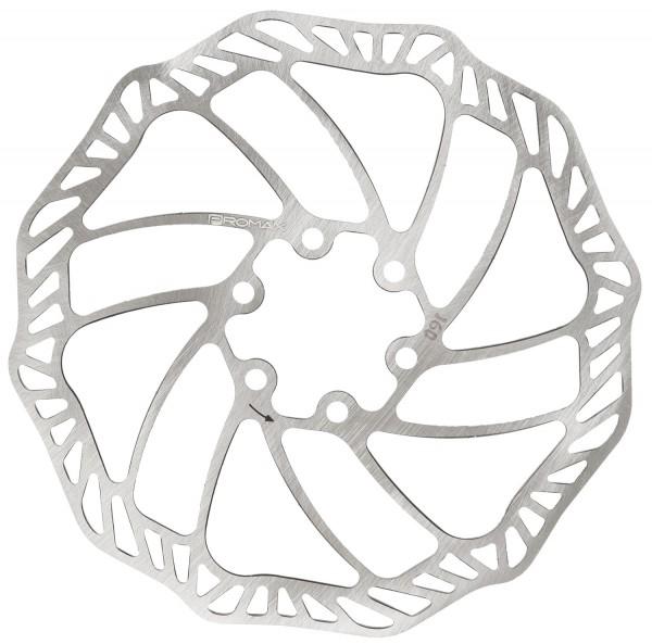 Freno de disco de 160 mm con tornillos de fijación