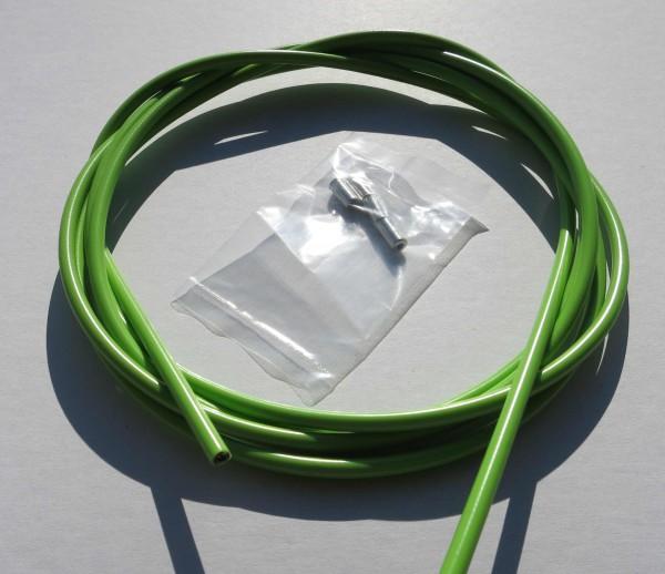 Cable exterior Bowden en verde claro