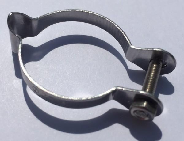 Abrazadera de acero para cable de frenos y de cambios para 25,4 mm