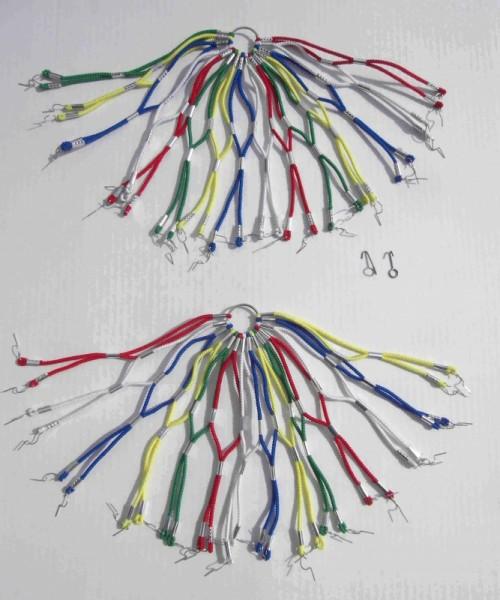Cubrerueda de goma, de colores, 26-28
