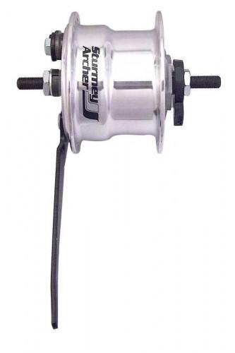 Buje de freno de tambor con dinamo de buje para rueda delantera Sturney Archer