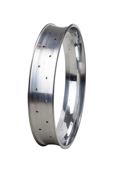 Llanta de aluminio de 24 pulgadas 102 mm pulido brillante