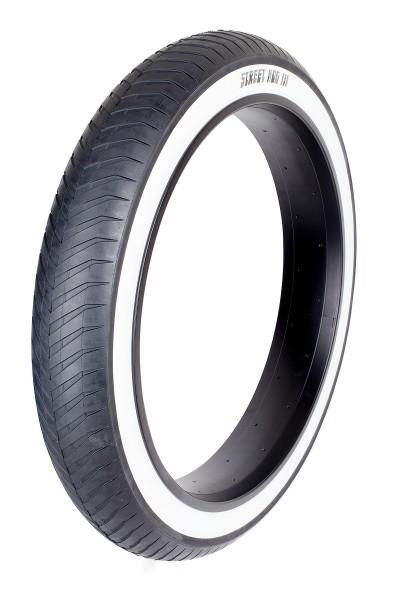 Neumáticos Monster 24 x 4 1/4 Street Hog III con banda blanca