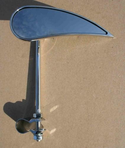 Espejo retrovisor, forma de gota, derecho
