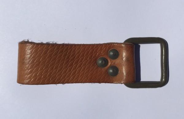 Soporte universal / correa de cuero con hebilla metálica/corchete