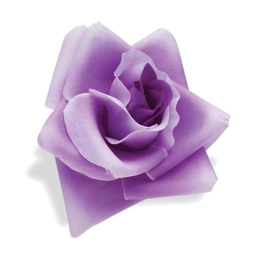 Flor para manillar rosa lila de Electra