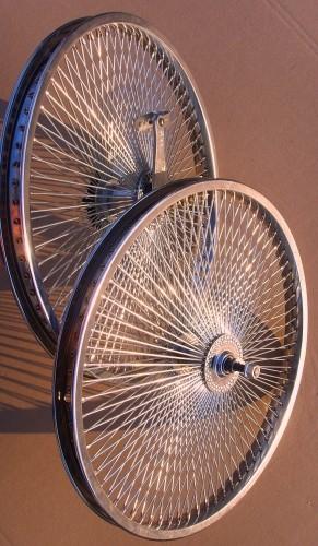 Juego de ruedas de 20 pulgadas 140 radios