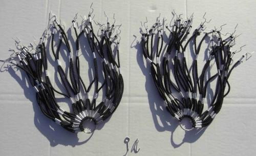 Cubrerueda, de goma en negro