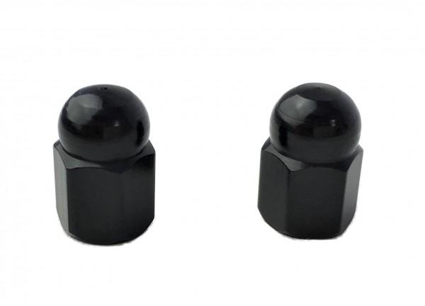 Tapas de válvulas «tuera de sombrerete» en negro