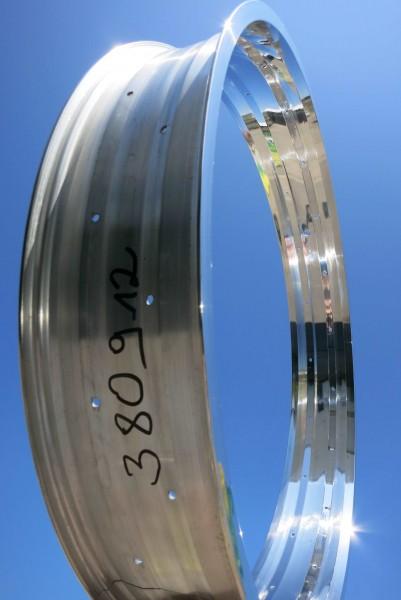 Llanta de aluminio de 24 pulgadas 102 mm pulida