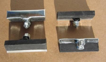 Zapatas de freno para frenos de varillas / frenos de interior de llanta