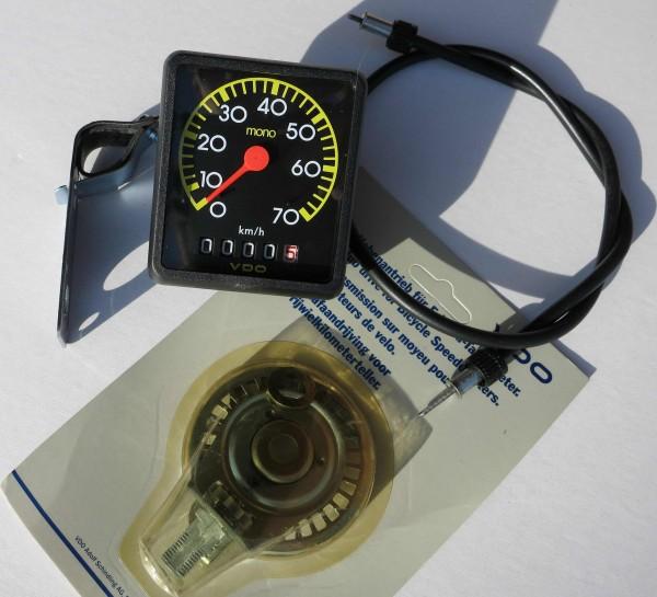 Tacómetro VDO mono analógico, año 85/86
